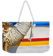 Rope And Boat Detail Weekender Tote Bag