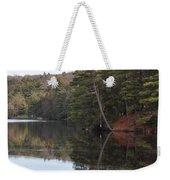 Rope Swing On Bear Creek Lake Weekender Tote Bag