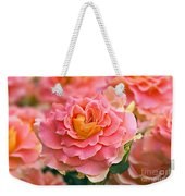 Rosa 'brass Band' Weekender Tote Bag by Alan Detrick and Photo Researchers