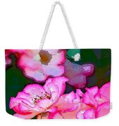 Rose 130 Weekender Tote Bag by Pamela Cooper