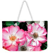 Rose 133 Weekender Tote Bag by Pamela Cooper