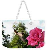 Rose And Rufous Weekender Tote Bag