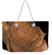 Rose Art  Sepia Weekender Tote Bag