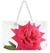 Rose Blooming Weekender Tote Bag