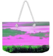 Rose Colore Scape Weekender Tote Bag