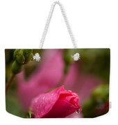 Rose Drop Weekender Tote Bag