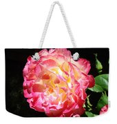 Rose Floral Fine Art Prints Pink Roses Flower Weekender Tote Bag