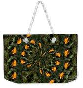 Rose Kaleidoscopic  Weekender Tote Bag