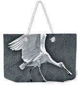 Roseate Spoonbill Landing Weekender Tote Bag