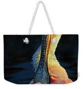 Roseate Spoonbill Preening Weekender Tote Bag