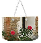 Roses And Antiquity  Weekender Tote Bag