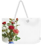 Roses Bouquet Weekender Tote Bag