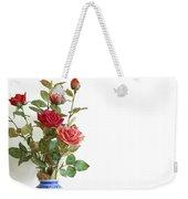 Roses Bouquet Weekender Tote Bag