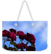 Roses In The Sky Weekender Tote Bag
