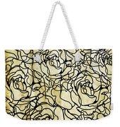 Roses Pattern Weekender Tote Bag by Setsiri Silapasuwanchai