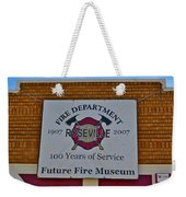 Roseville Fire Department Museum Weekender Tote Bag