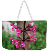 Rosey Leaf Sage Weekender Tote Bag