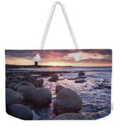 Roslee Castle, Easky, County Sligo Weekender Tote Bag