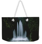 Ross Fountain Dancing In Front Of Lush Weekender Tote Bag