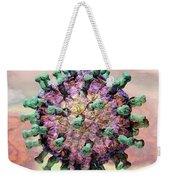 Rotavirus 2 Weekender Tote Bag by Russell Kightley