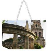 Rotunda Of Illustrious Jalisciences And Guadalajara Cathedral Weekender Tote Bag