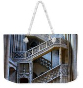 Rouen Cathedral Stairway Weekender Tote Bag