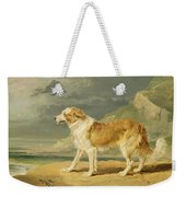 Rough-coated Collie Weekender Tote Bag