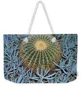 Round Cactus Weekender Tote Bag