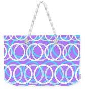 Round Cirlces Weekender Tote Bag