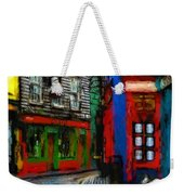 Round The Corner Weekender Tote Bag