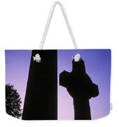 Round Tower And High Cross Weekender Tote Bag