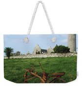 Round Tower, Kilmacduagh Near Gort, Co Weekender Tote Bag