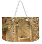 Roussillon Fountain Weekender Tote Bag