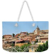 Roussillon In Provence Weekender Tote Bag