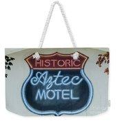 Route 66 Aztec Hotel Mural Weekender Tote Bag