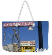 Route 66 Canyon Club Weekender Tote Bag