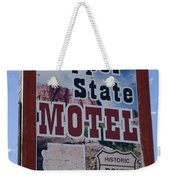 Route 66 Copper State Motel Weekender Tote Bag