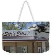 Route 66 Desotos Salon Weekender Tote Bag