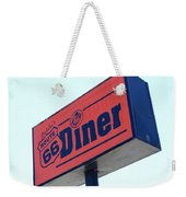 Route 66 Diner Sign Weekender Tote Bag