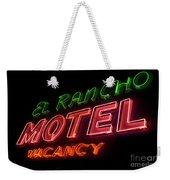 Route 66 El Rancho Weekender Tote Bag