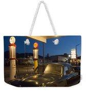 Route 66 Garage Scene Weekender Tote Bag