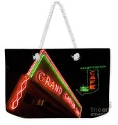 Route 66 Grand Canyon Neon Weekender Tote Bag