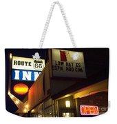 Route 66 Inn Weekender Tote Bag