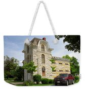 Route 66 - Macoupin County Jail Weekender Tote Bag by Frank Romeo