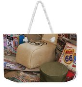 Route 66 Memorablilia Weekender Tote Bag