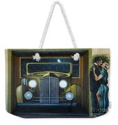 Route 66 Motel Mural Weekender Tote Bag