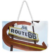 Route 66 Motel Sign 1 Weekender Tote Bag