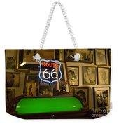 Route 66 Neon Sign 1 Weekender Tote Bag