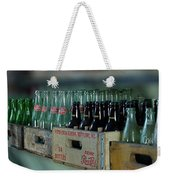 Route 66 Odell Il Gas Station Cases Of Pop Bottles Digital Art Weekender Tote Bag