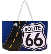Route 66 Sign Winslow Arizona Weekender Tote Bag